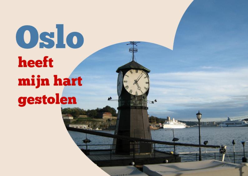 Vakantiekaarten - Oslo heeft mijn hart gestolen