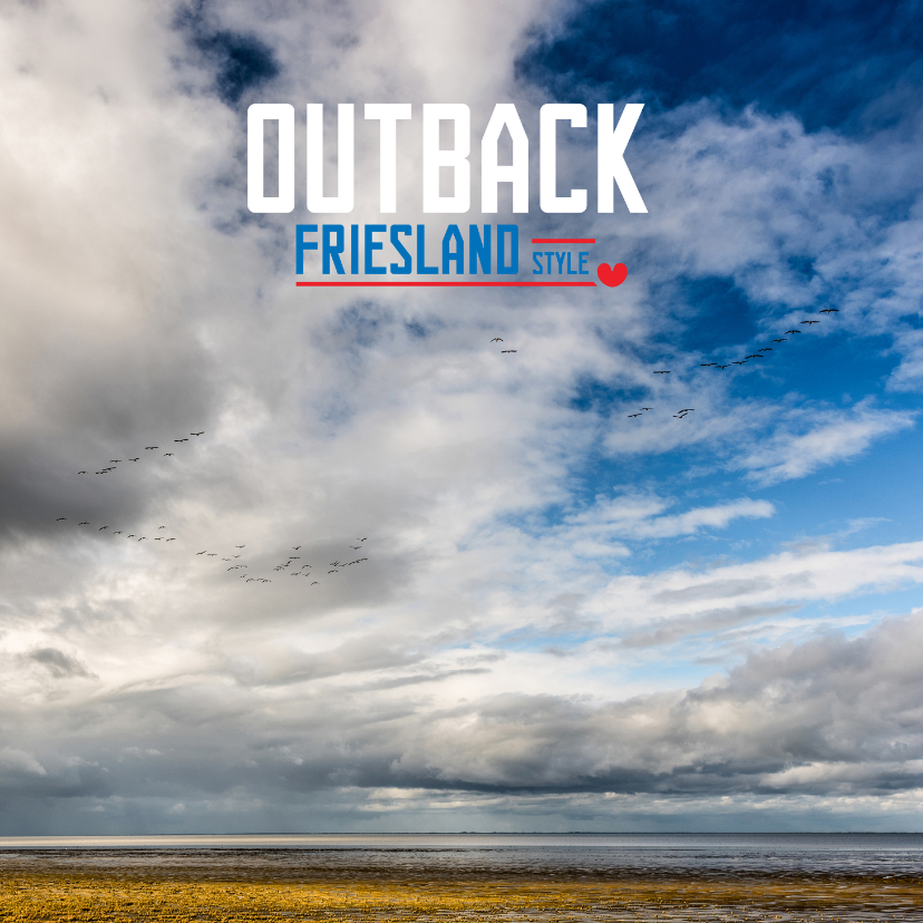 Vakantiekaarten - Outback Friesland Style