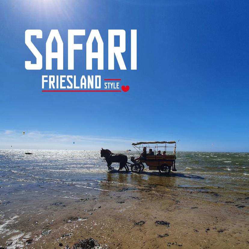 Vakantiekaarten - Safari Friesland Style 2