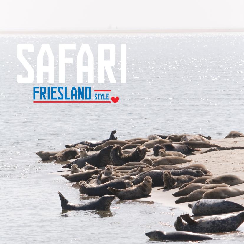 Vakantiekaarten - Safari Friesland Style