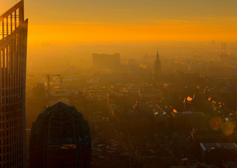 Vakantiekaarten - Skyline van Den Haag