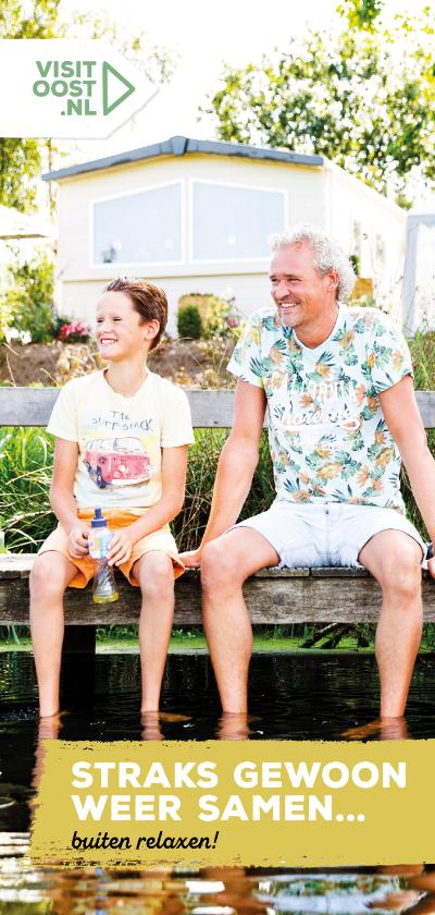 Vakantiekaarten - Straks weer samen buiten relaxen lang