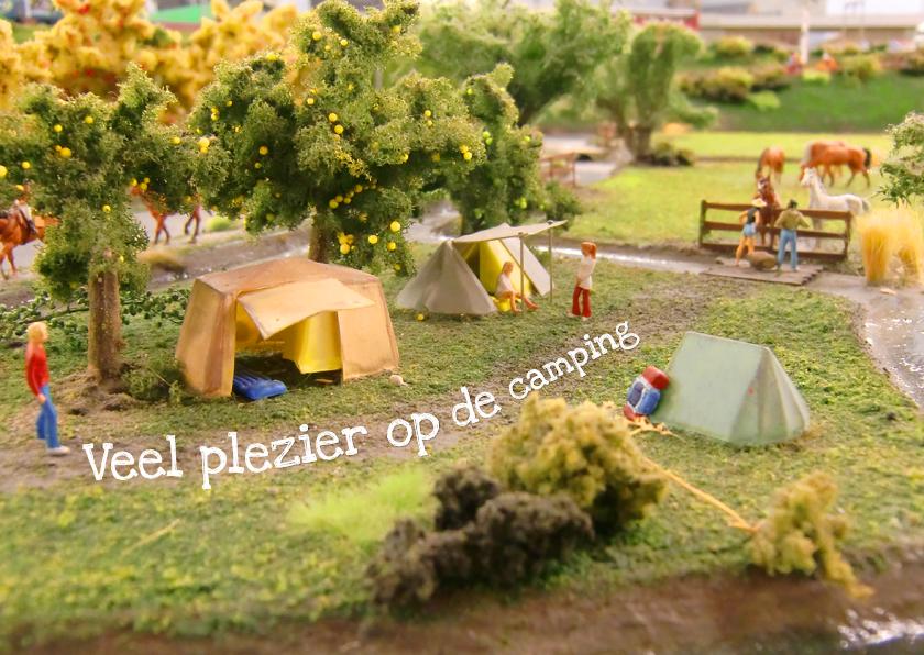 Vakantiekaarten - Vakantie Camping Fun