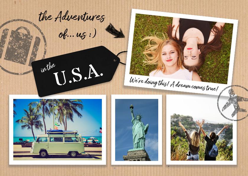 Vakantiekaarten - Vakantie in de U.S.A.