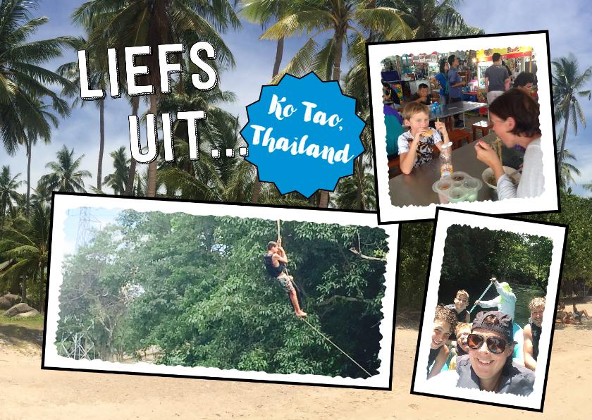 Vakantiekaarten - Vakantie Liefs uit... & eigen foto's