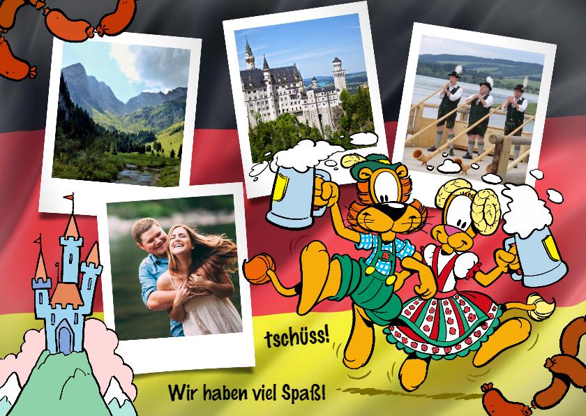 Vakantiekaarten - Vakantie Loeki in Duitsland - A