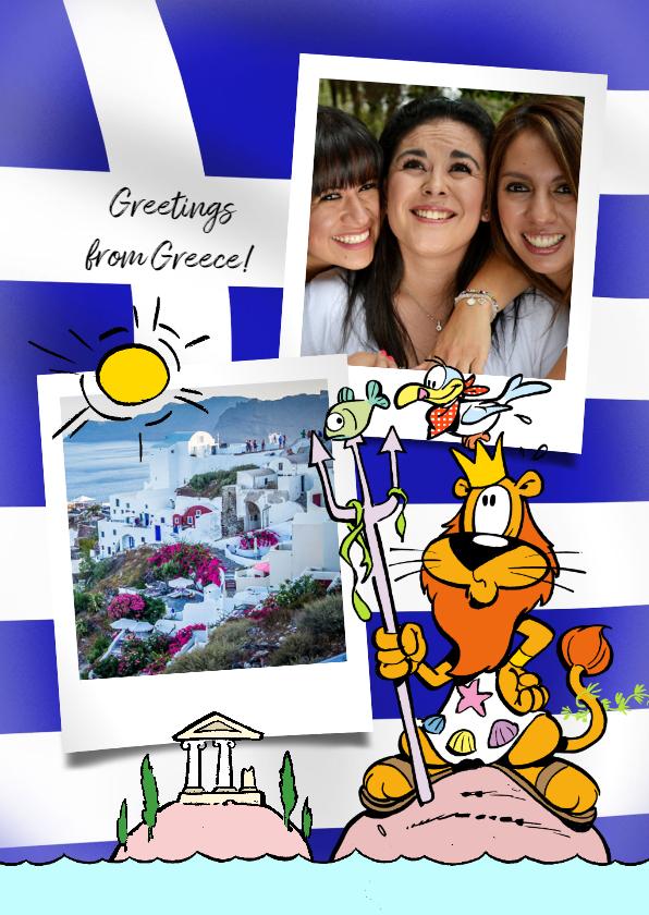 Vakantiekaarten - Vakantie Loeki in Griekenland - A