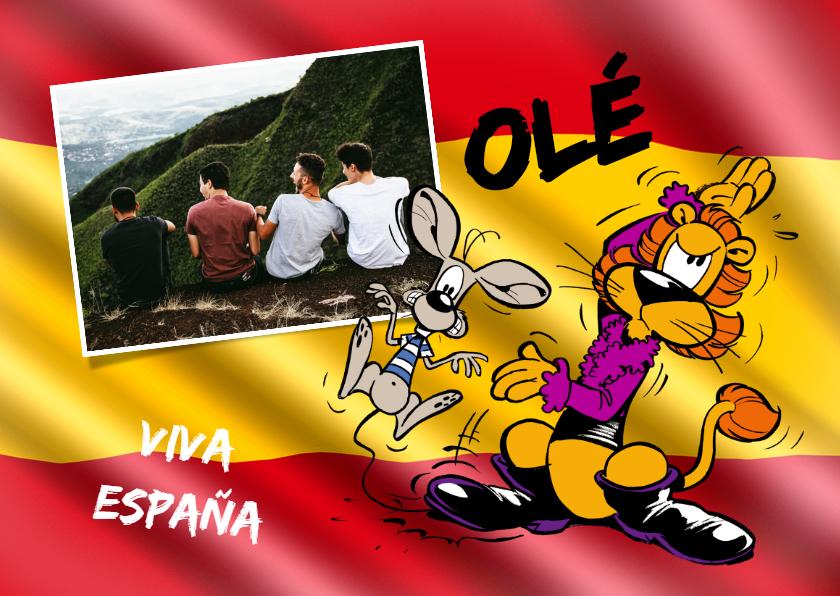 Vakantiekaarten - Vakantie Loeki in Spanje 1 - A