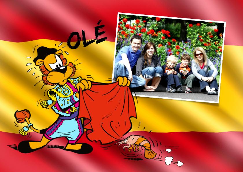 Vakantiekaarten - Vakantie Loeki in Spanje 2 - A
