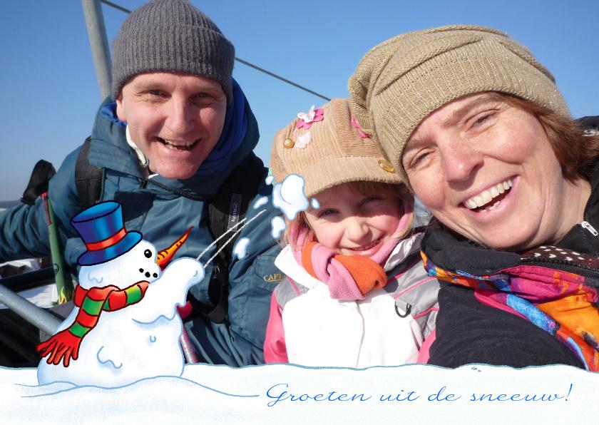 Vakantiekaarten - vakantie Wintersport met foto
