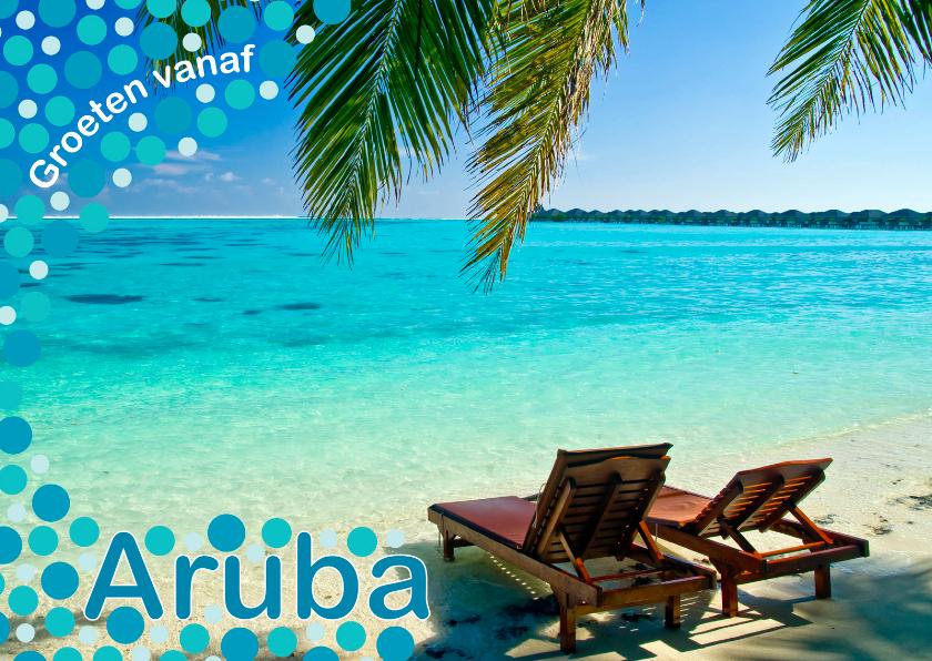 Vakantiekaarten - Vakantiekaart Aruba