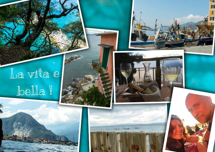 Vakantiekaarten - Vakantiekaart bella Italië  MM
