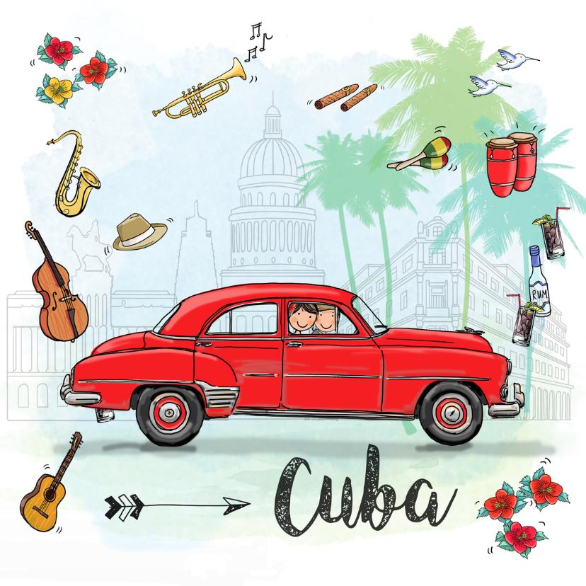 Vakantiekaarten - Vakantiekaart Cuba