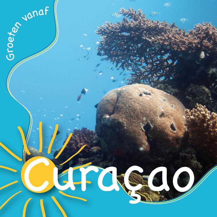 Vakantiekaarten - Vakantiekaart Curacao