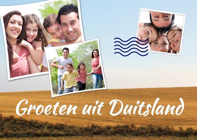 Vakantiekaarten - Vakantiekaart groeten uit Duitsland