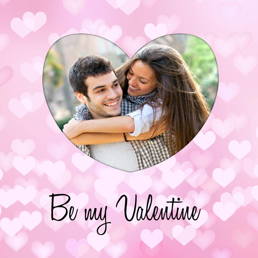Valentijnskaarten - Be my Valentine - BK