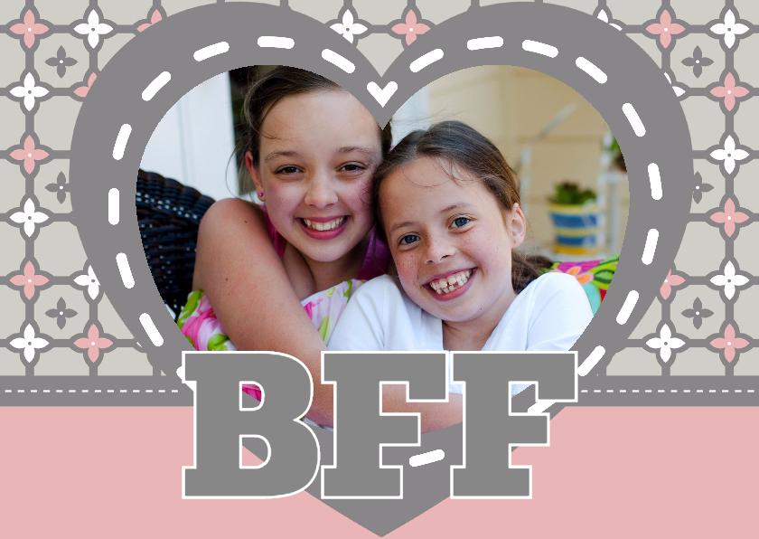 Valentijnskaarten - BFF Best Friends Forever - BK