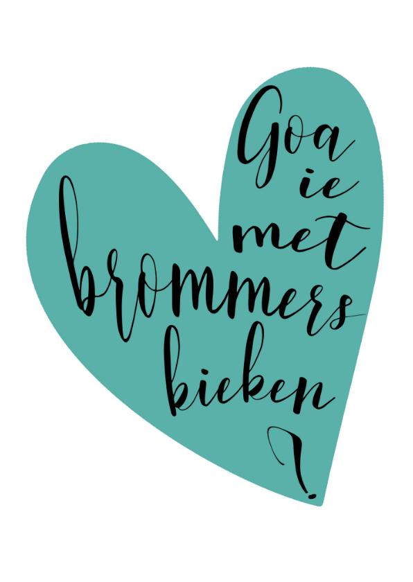 Valentijnskaarten - Brommers kieken