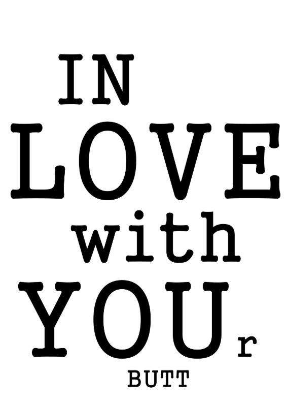 Valentijnskaarten - In Love with Your