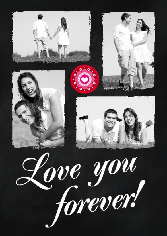 Valentijnskaarten - Love you forever - BK