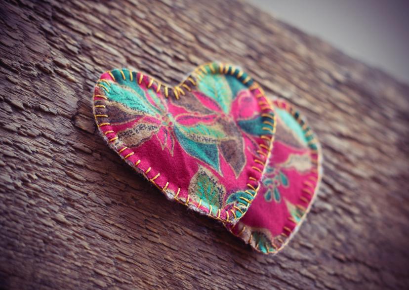 Valentijnskaarten - our hearts