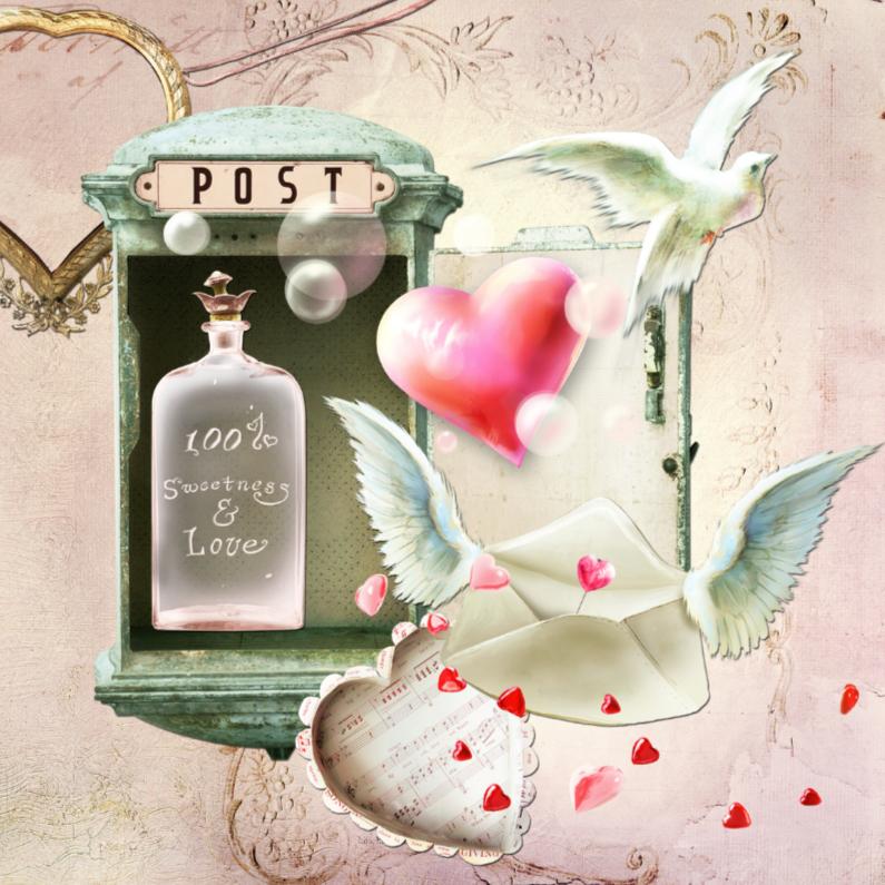 Valentijnskaarten - Sweetness and Love - SG