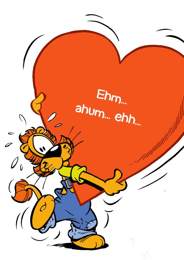 Valentijnskaarten - Valentijn Loeki hart - GS