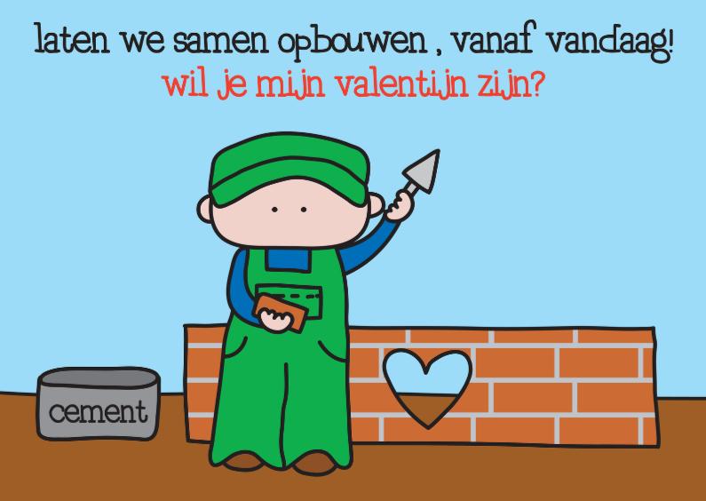 Valentijnskaarten - Valentijn Muurtje