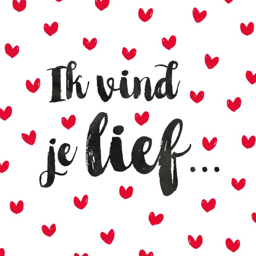Valentijnskaarten - Valentijn romantische hartjes