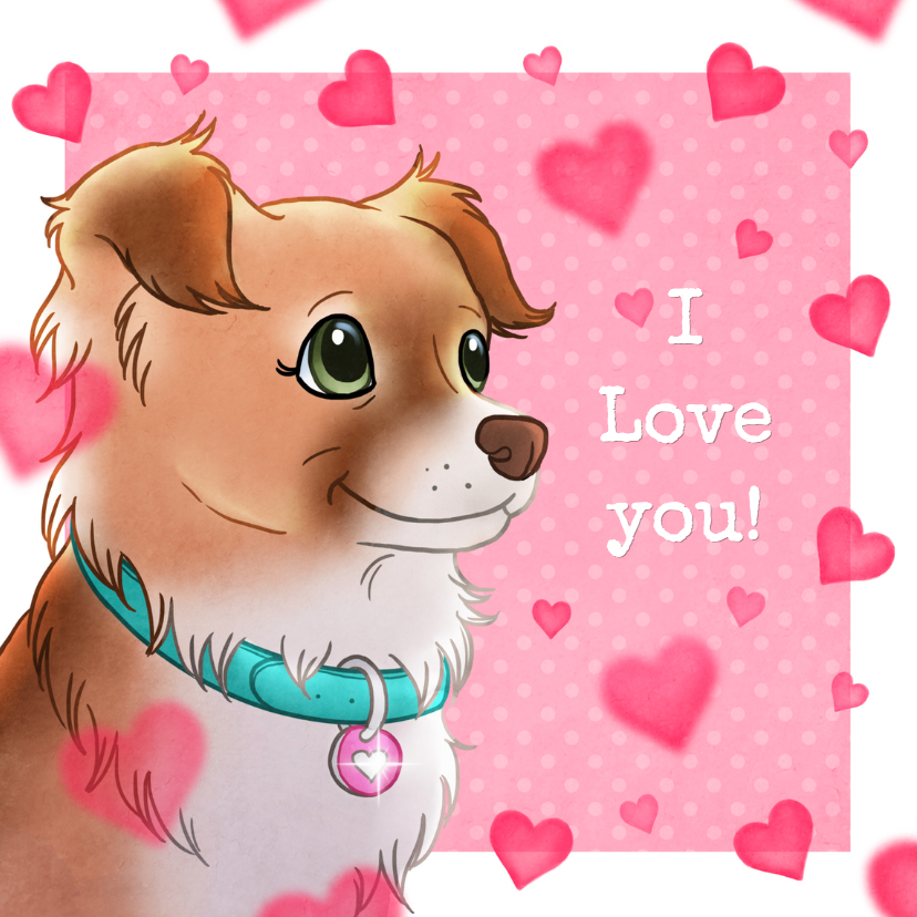 Valentijnskaarten - Valentijnskaart Chiwowy Penny
