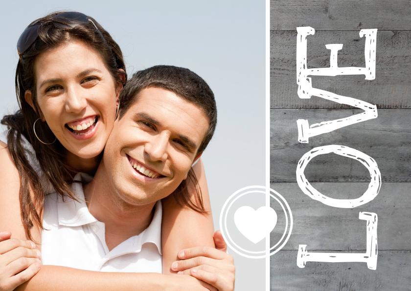 Valentijnskaarten - Valentijnskaart Foto Love