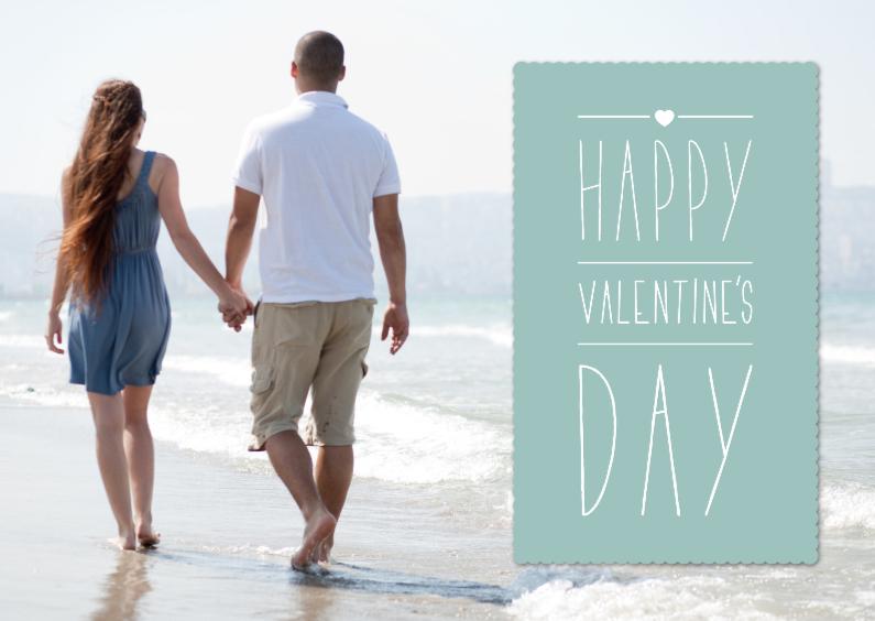 Valentijnskaarten - Valentijnskaart Foto met Vlak