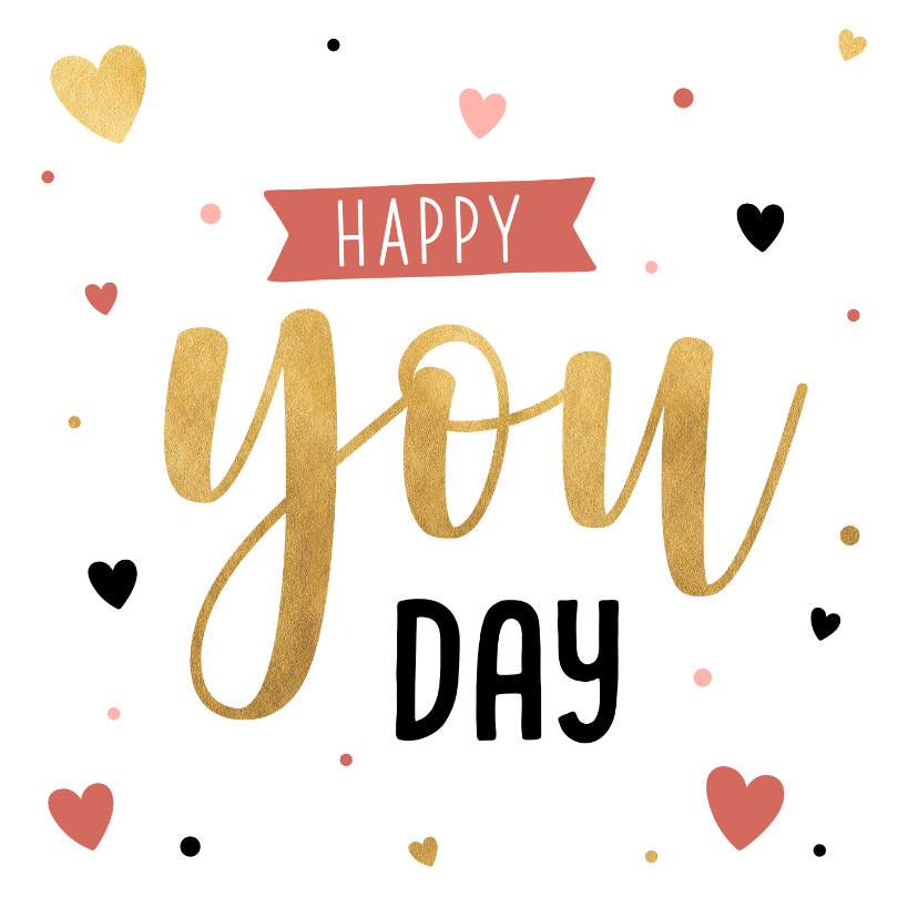 Valentijnskaarten - Valentijnskaart happy you day