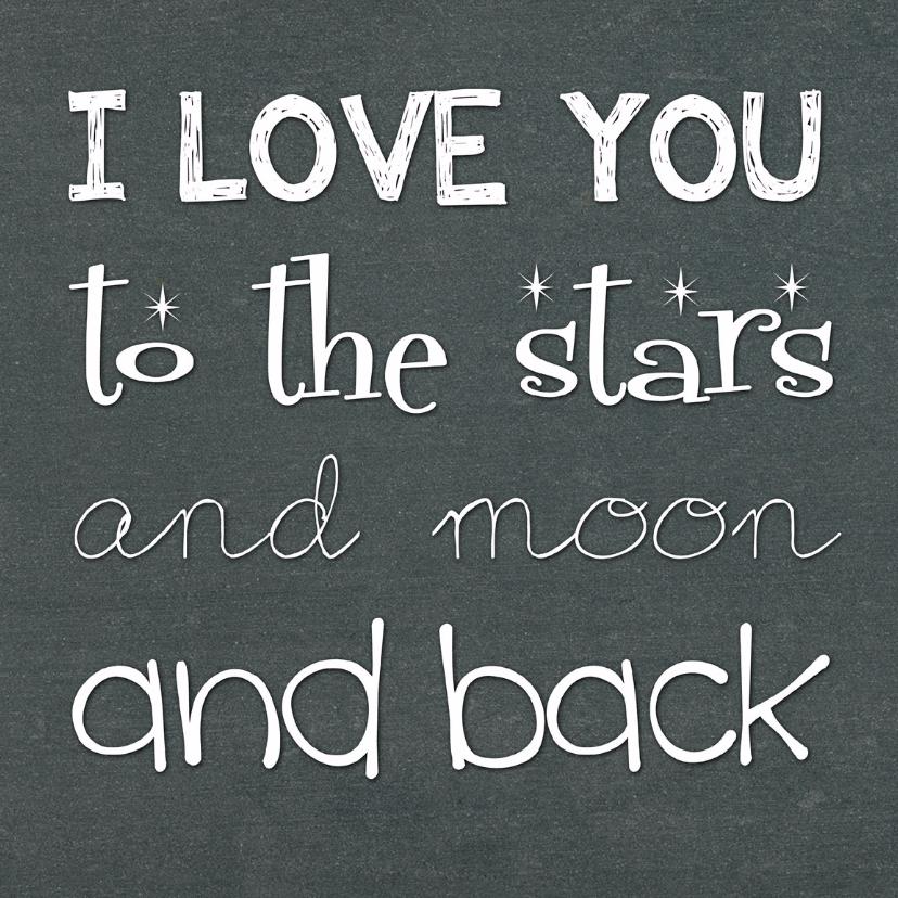 Valentijnskaarten - Valentijnskaart I love you 2