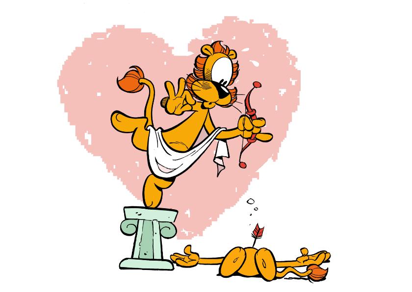 Valentijnskaarten - Valentijnskaart Loeki Cupido A