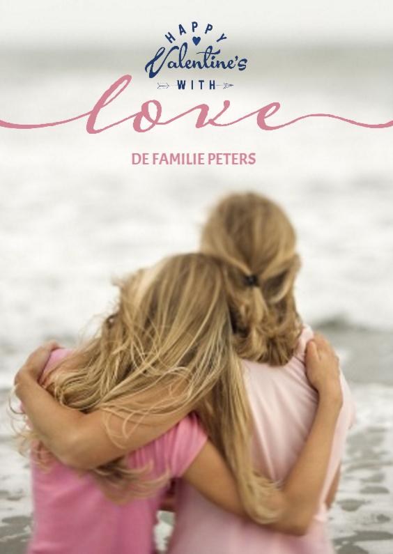 Valentijnskaarten - Valentijnskaart Love Letters