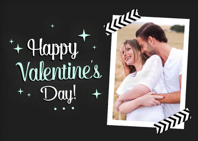 Valentijnskaarten - Valentijnskaart met foto sterren