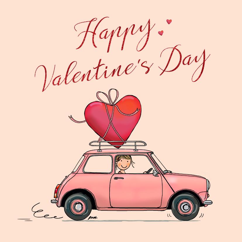 Valentijnskaarten - Valentijnskaart Mini ballon av