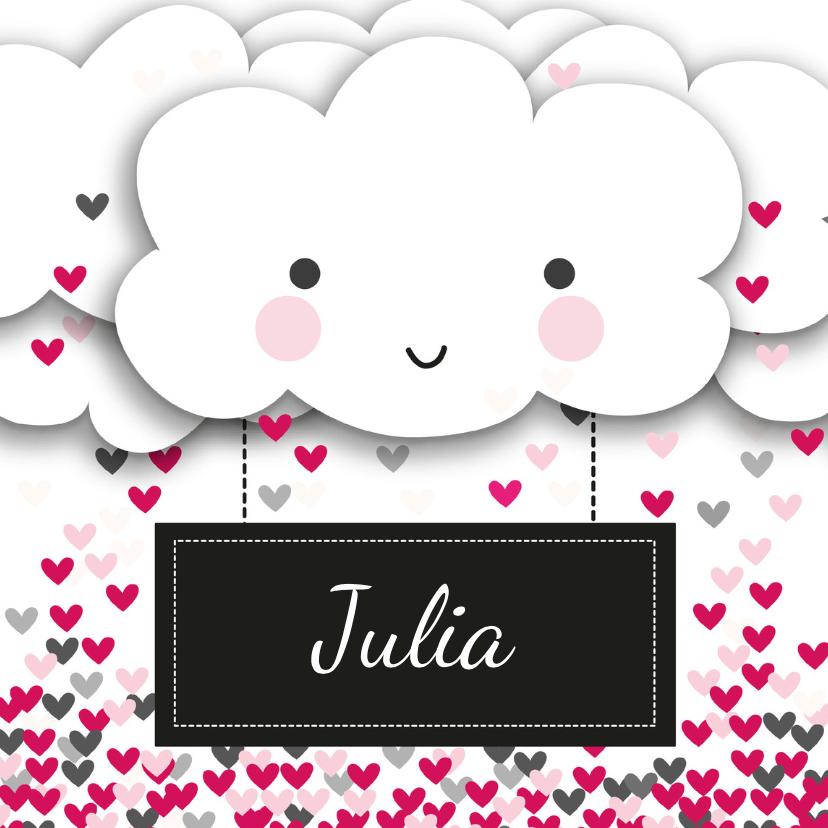 Valentijnskaarten - Valentijnskaart wolken