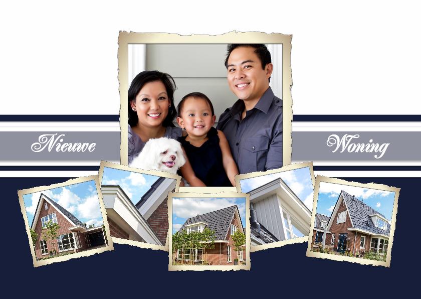 Verhuiskaarten - Collage Nieuwe Woning - BK