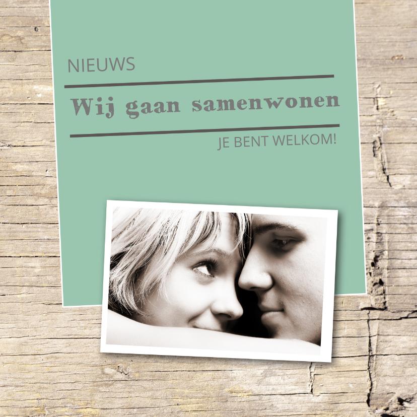 Verhuiskaarten - Samenwonen Jesper en Anne