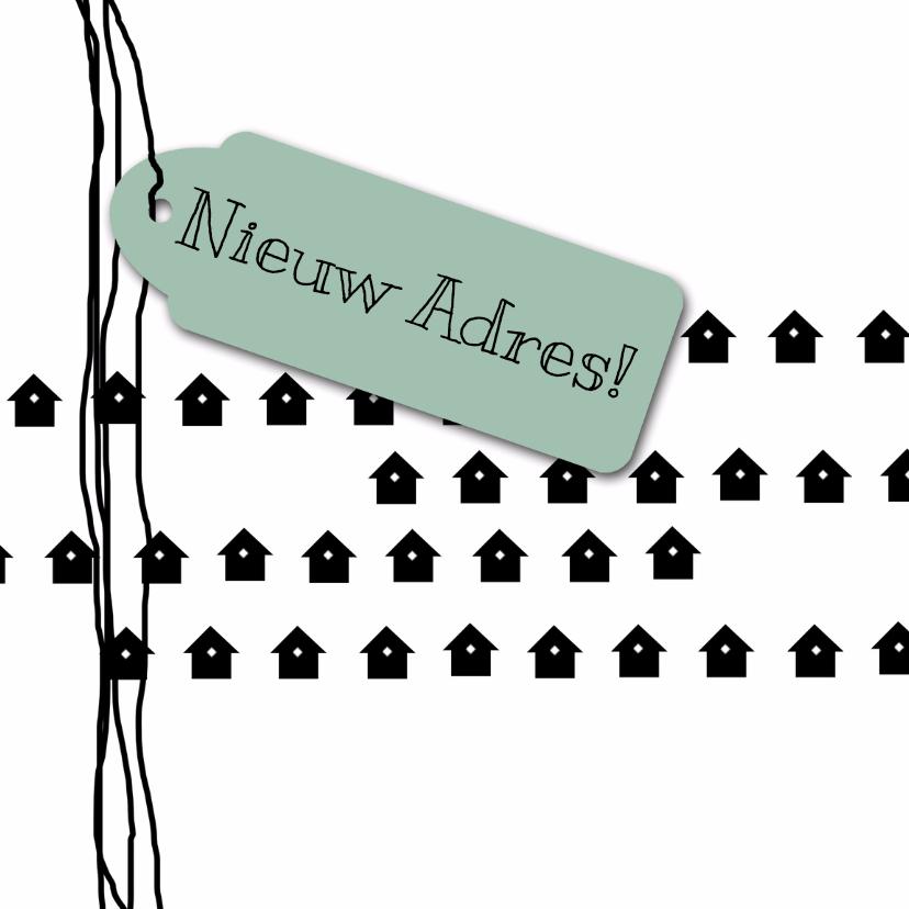 Verhuiskaarten - Verhuiskaart Adres