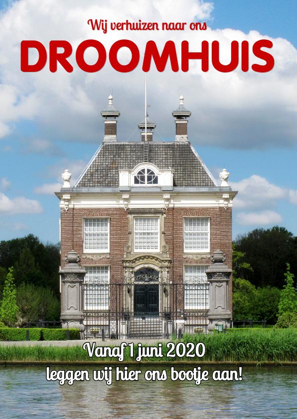Verhuiskaarten - Verhuiskaart cover magazine 2 - OT