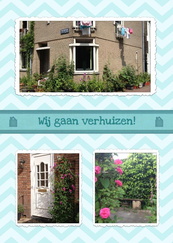 Verhuiskaarten - Verhuiskaart Foto Collage