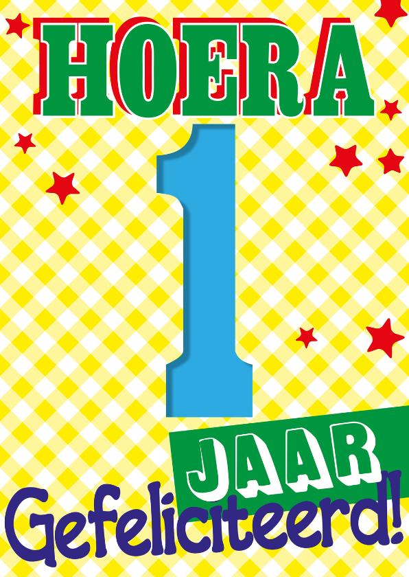 hartelijk gefeliciteerd 1 jaar 1 jaar eerste verjaardag    Verjaardagskaarten | Kaartje2go hartelijk gefeliciteerd 1 jaar
