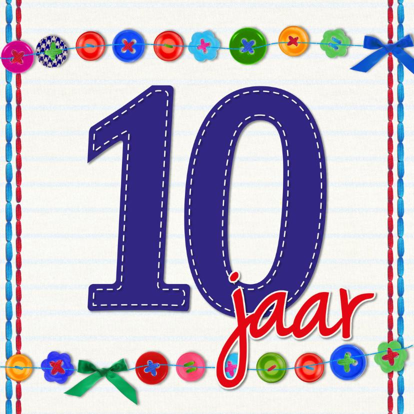 10 Jaar Tien Verjaardag Verjaardagskaarten Kaartje2go