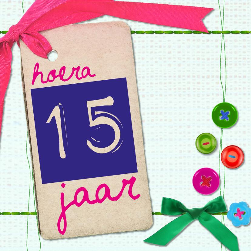 verjaardagskaart 15 jaar 15 jaar verjaardag    Verjaardagskaarten | Kaartje2go verjaardagskaart 15 jaar