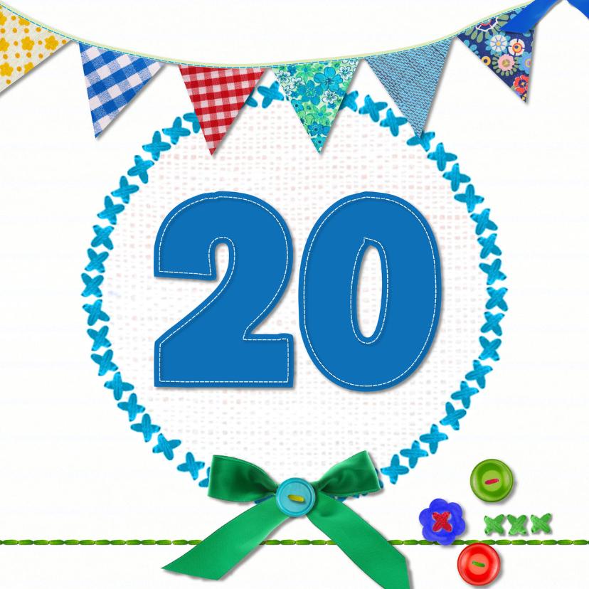 20 Jaar Verjaardag Verjaardagskaarten Kaartje2go