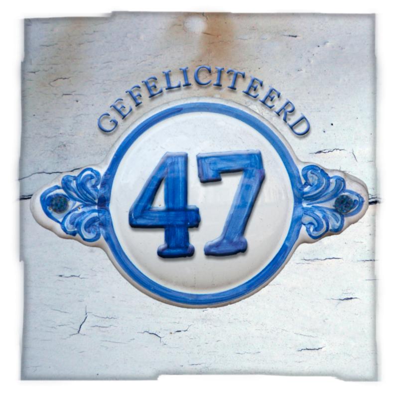Verjaardagskaarten - 47 jaar