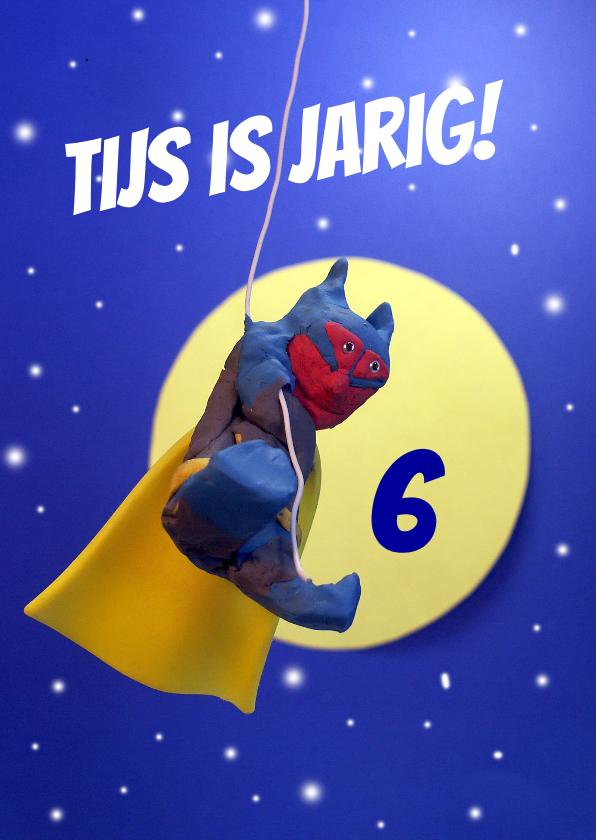 Verjaardagskaarten - Batman verjaardagskaart voor superheld